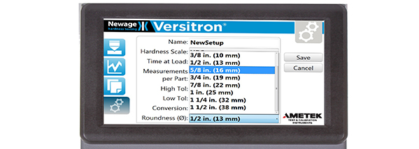 The New Generation of the Versitron Rockwell Hardness Tester is Here