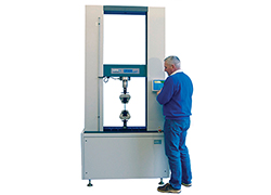 LR Plus digital tensile tester - floor standing