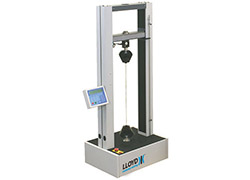 LR Plus digital tensile tester machine - bench mounted